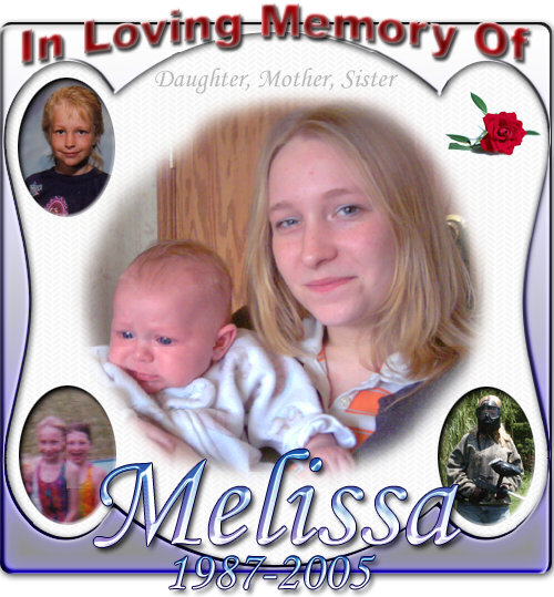 In memory of Melissa Taylor
